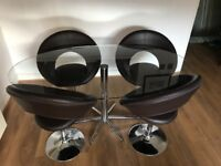Dwell dinning table and 4 chairs