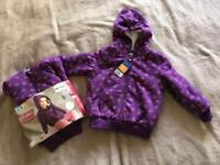 Girls sweat jacket - 98/104 cm (3-4 years) - NEW