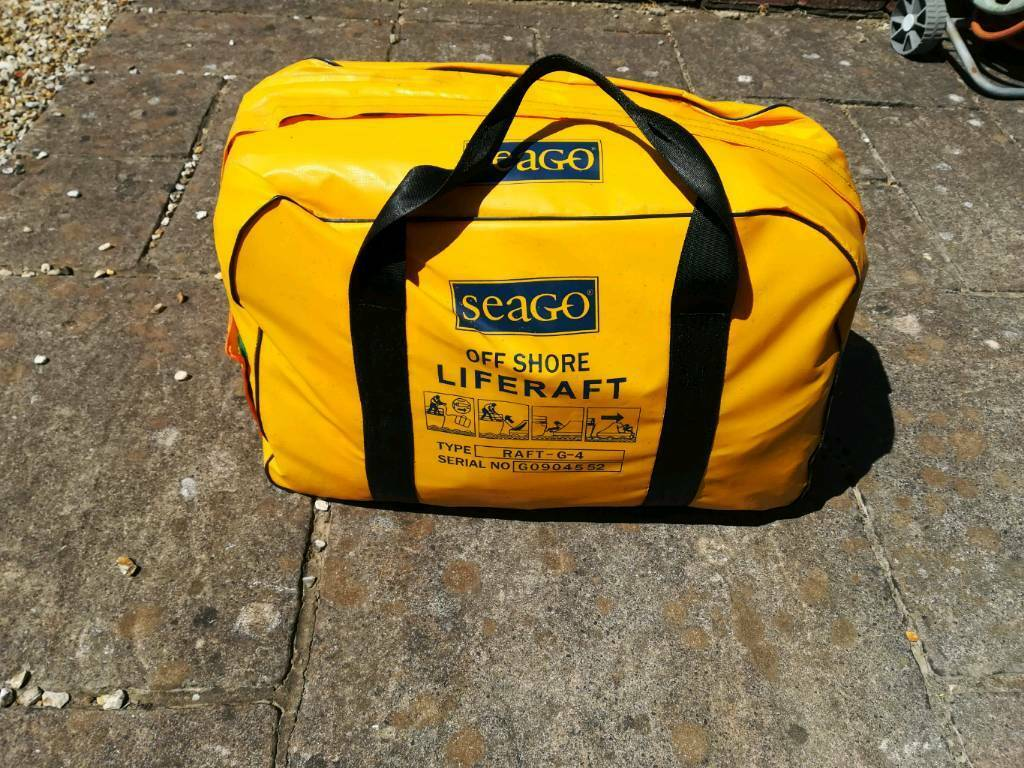 Seago 4 man offshore liferaft | in New Milton, Hampshire | Gumtree
