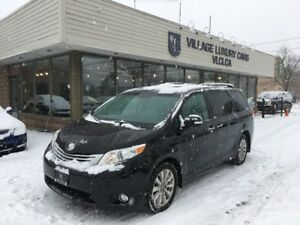 2014 Toyota Sienna XLE 7 Passenger LIMITED   REAR ENTERTAINME...