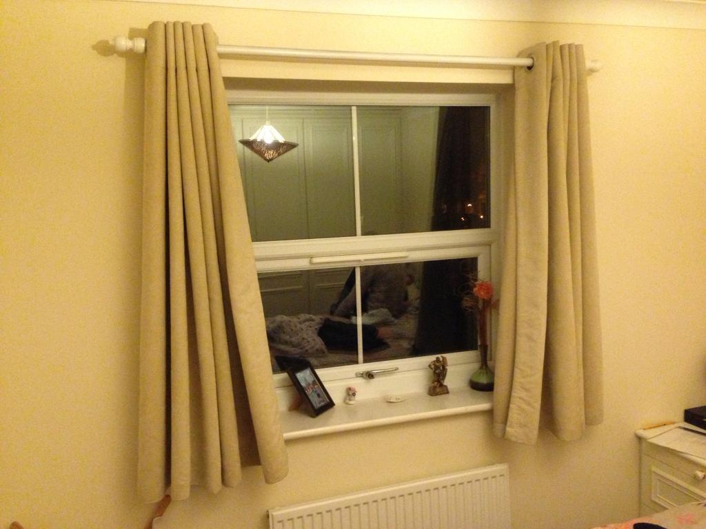 Dunhelm eyelet curtains 54 drop
