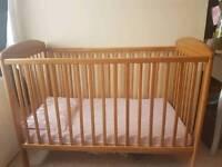 Mamas and babas cot bed