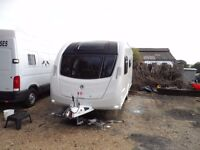 Swift Challenger 530 SE 4 Berth Caravan 2014 - End Washroom - Warranty