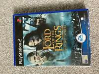 Lord of the Rings PS2 game