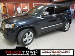 2012 Jeep Grand Cherokee OVERLAND-FULLY LOADED WITH HEATED LEATH