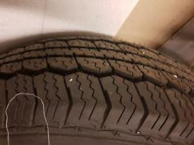 New Citroen Wheel and Tyre for Vans P125/75R15