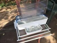 Bosh fridge freezer shelves, temp glass, trays