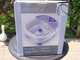 ELECTRIC BUBBLE FOOT MASSAGER