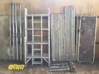 Boss Youngman scaffold tower 6.2M WH X 1.8M