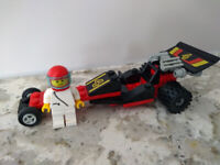 LEGO 6526 Red Line Racer Classic Town Complete Vintage 1989