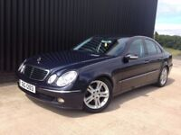 2006 Mercedes-Benz E Class 3.0 E320 CDI Avantgarde 7G-Tronic 4dr Plate Included,12 Months MOT May PX