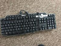 dell keyboard + usb ports