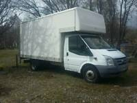 Ford transit Luton with taillft.