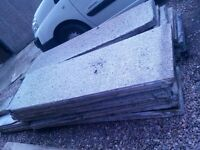 concrete garage panels. free collection only. some damaged, see images