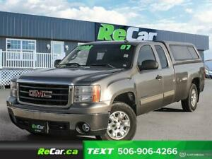 2007 GMC Sierra 1500 SLE REDUCED | 2WD | 5.3L | ONLY $4,994