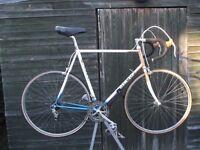 Vintage Italian Olmo Professional Racing Bike. Columbus Frame Campagnolo Nuovo Record Gears