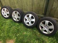 Audi alloy wheels 5x112 vw t4 t5