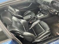 Bmw e46 coupe black leather interior