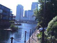 Great value Canary Wharf room to rent, bills incl., sky tv, garden, broadband