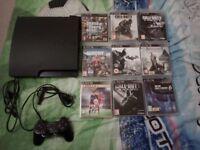 PS3 160GB + 9 Games