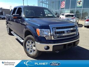 2014 Ford F-150 XLT 4X4 V-8 POWER 6.5 FOOT BOX TAILGATE STEP