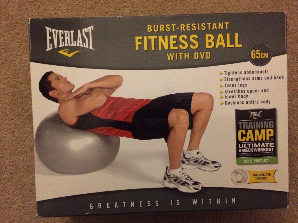 Everlast 65cm Burst Resistant Fitness Ball