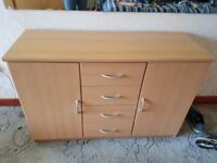 Small sideboard storage unit