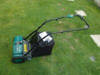 Coopers Rechargeable Cordless Cylinder Lawn Mower
