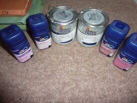 Dulux Tester Paint Pots Pink