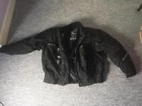 Bering motorcycle armoured jacket size XXL (48 chest)