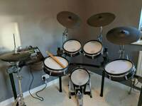 Roland VDRUM kit TD20/TD30 pads with TD12 brain