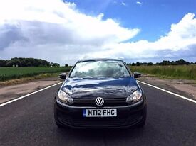 2012 VW GOLF TSI S (105ps) 1.2 HPI CLEAR TOP SPEC VERY LOW MILEAGE VWSH OPEN TO OFFERS