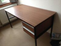 Office style desk with 2 drawers