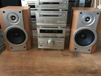 Technics hd301 hifi system with Sony speakers 🔊
