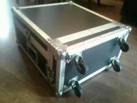 Flight case for mixing desk