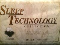 King Size 5ft wooden bed & pocket spring mattress