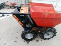 Muck truck with honda engine. power drive 0.25 ton. 4 forward-1 reverse. £1000. Excellent condition.