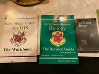 GCE's books - various