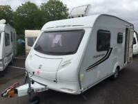 2010 Sprite Musketeer EB. 5 Berth with Triple bunks. Inc an Awning.