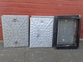 Steel Manhole Covers w/ Frames