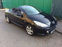 Peugeot 307 CC 2.0 HDi Sport 2dr, 6 MONTHS FREE WARRANTY, FULL SERVICE HISTORY, LEATHER