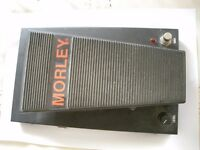 Morley Pro Series Wah Volume (PMV) pedal/stompbox/effects unit for electric guitar/instrument - USA