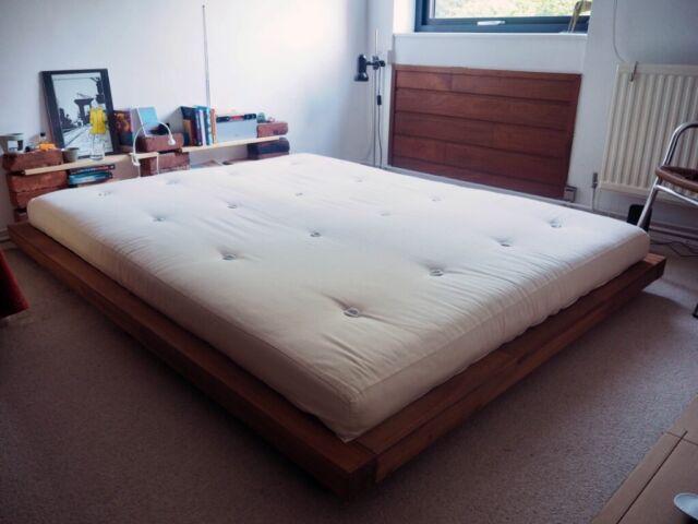 Low Level Platform Kingsize Bed And