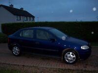 Jan 2004 Vauxhall Astra CLUB 8V