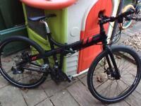 Mountain bike 24 speed fold up