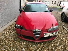 Damaged 2005 Alfa Romeo 147jtd