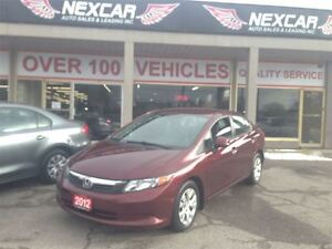 2012 Honda Civic LX AUT0 A/C CRUISE ONLY 54K