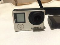 Go Pro hero 4 Black with removable touchscreen and much more