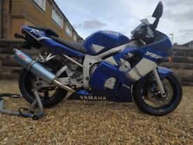 Yamaha R6 15000 miles only