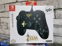 Zelda Switch Wired Controller Boxed